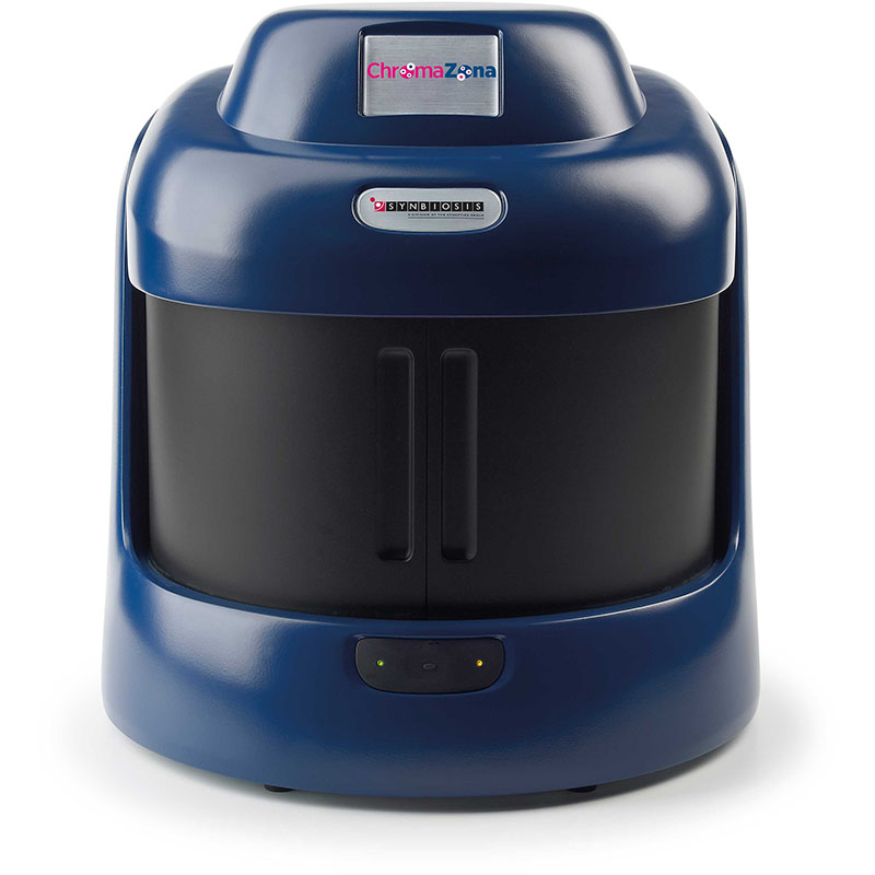 ChromaZona AST analysis and microbial identification - open closed view