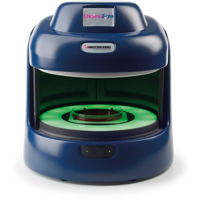 ChromaZona AST analysis and microbial identification - open front view